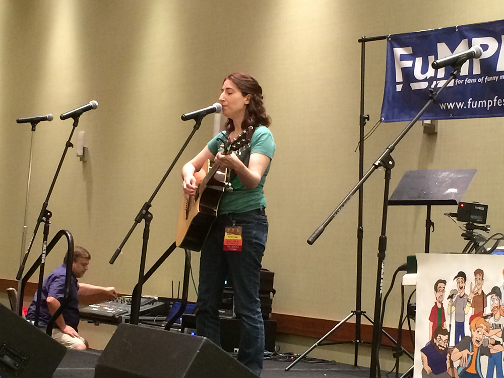 Alyssa Yeager at the FuMP Showcase